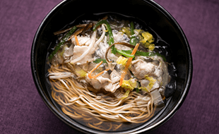 """横浜名物""""サンマー麺"""""""