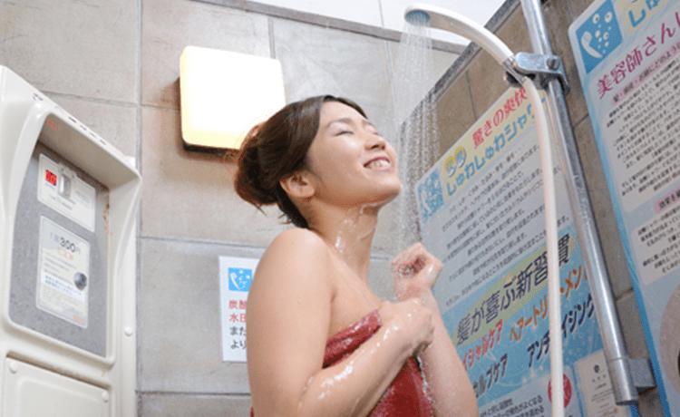 炭酸シャワー